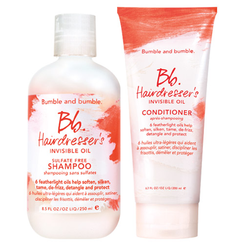 Hairdresser's Oil Shampoo & Conditioner